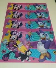 "4pc Disney Minnie Mouse/Daisy Duck Placemat  Durable Washable 11.75"" x 17.75"""