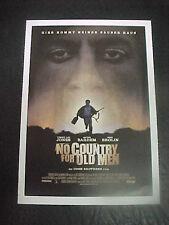 NO COUNTRY FOR OLD MEN, film card [Joel Coen, Tommy Lee Jones]