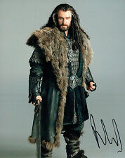 Richard ARMITAGE SIGNED Autograph 10x8 Photo AFTAL COA The HOBBIT Actor