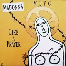 "Madonna Like A Prayer 3 mixes Europe 12"" 2nd edition"