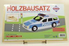 Pebaro 851/3 Holzbausatz Polizeiauto NEU und OVP