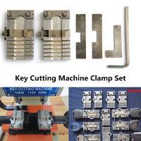 Key Cutting Machine Hard Key Chucking Tool Car Key Blade Clamp Set Adjustable