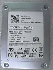 "Lite-On Technology 128GB CV1-CC128 6Gbps 7mm internal SATA 2.5"" SSD Drive"