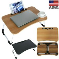 Bed Table Laptop Desk Simple Dormitory Lazy On Bed Foldable Multi-purpose US