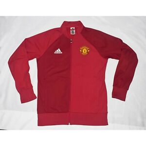 Adidas Manchester United Red Track Jacket Mens M