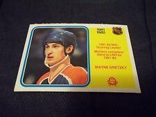 1982-83 OPC O-Pee-Chee #243 Wayne Gretzky Sc Ldr Oilers - nrmtmt