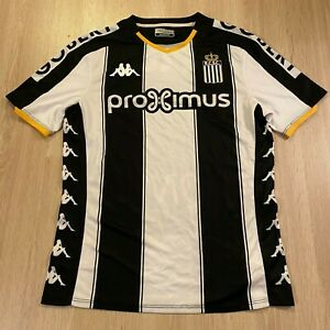 Charleroi S.C. Home Football Shirt 2019 / 2020 (M) [Kappa]