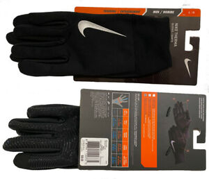 Nike Therma Men's Black Gloves - Training Running Size M L XL - New w/Packaging