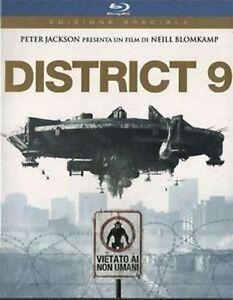 Blu Ray DISTRICT 9 - (2009) *** Edizione Speciale ***  ......NUOVO
