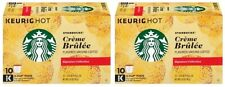 Starbucks Creme Brulee Keurig K-Cups 2 Box Pack
