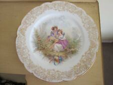"Antique Sevres St Cloud Cabinet Plate 9.5"" C.1840's"