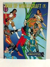 WAR OF WORLDCRAFT Sourcebook: A Superhero Adventure For the HERO SYSTEM RPG NEW!
