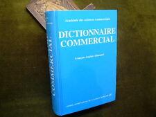 DICTIONNAIRE COMMERCIAL Français - Anglais - Allemand CILF PUF 1994