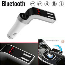 Bluetooth Car Kit Handsfree LCD FM Transmitter Radio Adapter MP3 Player Dual USB