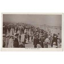 More details for montrose busy sunday at montrose beach, rp postcard postmark montrose 1912