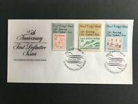 MCK79) Cocos Keeling Island 1988 Stamp Anniversary FDC