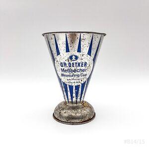 Vintage Dr. Oetker Messbecher 50er Jahre Measuring Cup Nr. 2825 Made in Germany