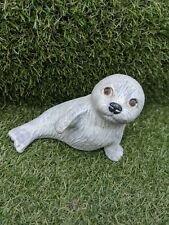 Vintage Seal Figure Indoor Outdoor Garden Mini Ornament VGC