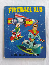 Fireball XL5 - Rare - A Big Television Book c1964 F/VF