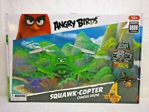 Angry Birds The Pigs Squak-Copter Camera Drone - Green - Ships Free in USA