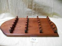 Large Wood Souvenir Spoon Rack - Holds 24 Spoons - Solid Hardwood Construction