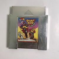 Stunt Kids Nintendo NES Authentic Unlicensed  Camerica Chrome