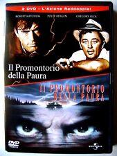 Dvd Il Promontorio della Paura 1962 + Cape Fear 1991 - 2 dischi Usato raro