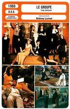 FICHE CINEMA : LE GROUPE - Bergen,Hackett,Lumet 1966 The Group