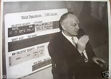 Blanc Maison Désarmement Chef Harold Stassen Ancienne Photo