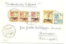 NED INDIE DUTCH INDIES  1928-11-2  CV TO SWITZERLAND  PRACHT  VF