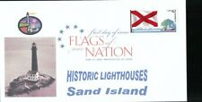 Flags of our Nation - Alabama (Sc. 4274) Sand Island Lighthouse