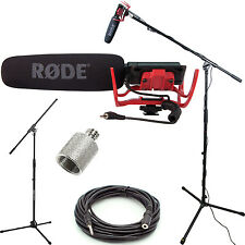 Rode VideoMic Studio Boom Kit - Boom Stand, Adapter, 25' Cable