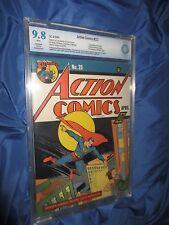 ACTION COMICS #23 CBCS 9.8 1940 Superman ~1st Appearance of Lex Luthor!!!  (CGC)