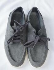 Mens Reef Shoes Size 7 Deckhand 2 TX Charcoal Gray NEW
