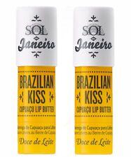 SOL DE JANEIRO BRAZILIAN KISS CUPUAÇU LIP BUTTER (2Pack)