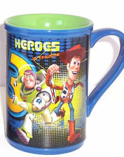 Disney Store Toy Story Coffee Mug 3 Buzz Lightyear Tea Blue Retired New