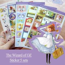 Wizard of OZ Illustration Sticker Diary Planner Scrapbook Calendar Cute Decor