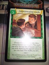 HARRY POTTER TCG CARD CHAMBER OF SECRETS IMPERSONATING GOYLE 30/140 RARE MINT