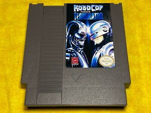 Robocop Vs The terminator NES Nintendo Game Action Game !!!!!!!!!!!!!!!!!!!!!!!!