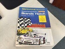 Brands Hatch campionato Euro programma RACE giugno 1975