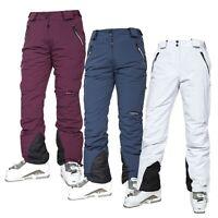 Trespass Womens Ski Pants Waterproof Slim Ski Snow Trousers With Braces