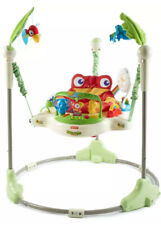 Fisher-Price Rainforest Jumperoo Promotes Comfort and Security Interactive Play