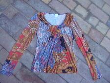 Alba Moda Shirt Paisley bunt gemustert Gr. 34 (36)