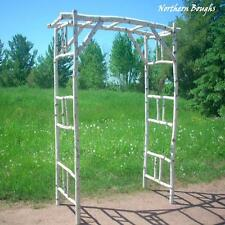 Birch Wedding Arch/Arbor Kit Deluxe