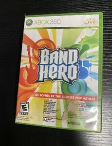 Band Hero Xbox 360 Tested Complete With Manual