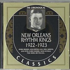 New Orleans Rhythm Kings 1922-1923 Chronological Classics Music CD