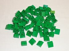 NEW LEGO Green 2X2 45° Slope Bricks Wedge Lot of 100 Pieces 3039