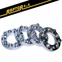 4x Land Rover 30mm Aluminium Wheel Spacers Defender Discovery 1 Range Rover
