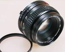 [Excellent+++++] MINOLTA MC ROKKOR PF 50mm F1.7 From Japan #003