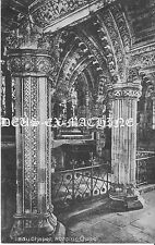 Vintage Postcard, Rosslyn Chapel Lady Chapel 2 #15 Holy Grail Knights Templar